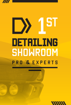 first detailing showroom