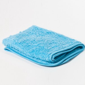 Shaggy Fur-Ball Blue Microfiber