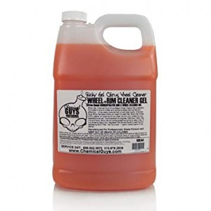 Sticky Gel wheel and rim cleaner gel-citrus based 1 gallon